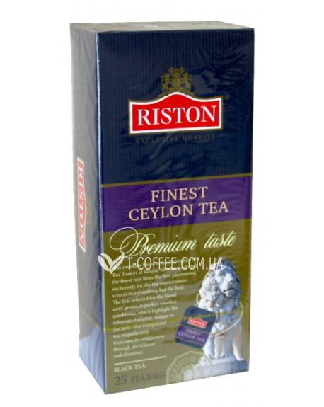 Чай Riston Finest Ceylon Tea Файнест Цейлонский 25 х 1,5 г