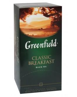 Чай GREENFIELD Classic Breakfast Классический Завтрак 25 х 2 г (4820022861993)