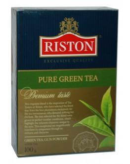 Чай RISTON Pure Green Tea GP Ганпаудер 100 г к/п (4792156002187)