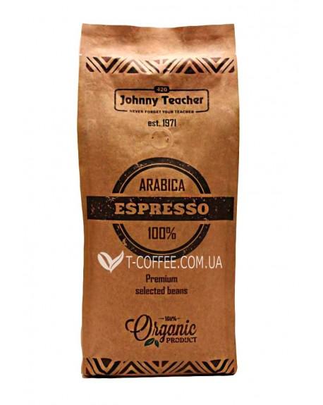 Кофе Johnny Teacher Espresso Dark зерновой 1 кг (4820211000042)