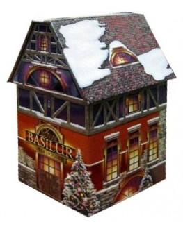 Чай BASILUR Christmas House Різдвяний Будиночок - Святкова 100 г ж/б (4792252100756)