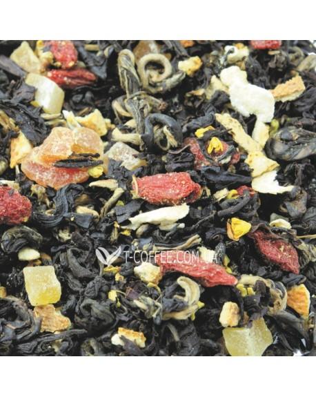 Баба-Яга черный ароматизированный чай Світ чаю