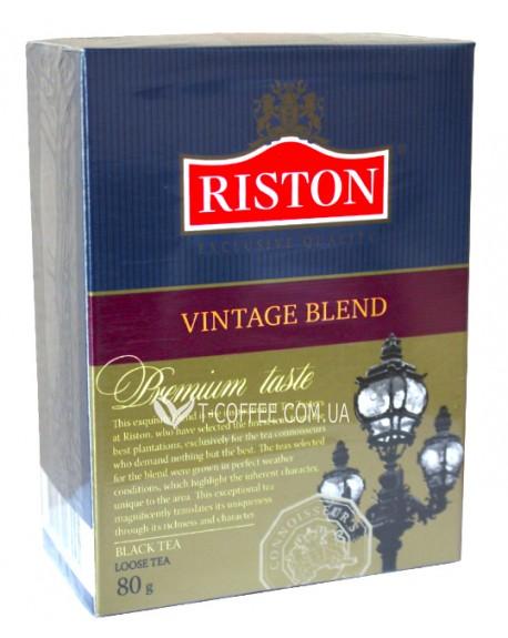 Чай Riston Vintage Blend Винтейдж Бленд 100 г к/п