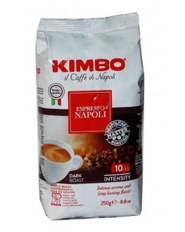 Кава KIMBO Espresso Napoli зернова 250 г (8002200602123)
