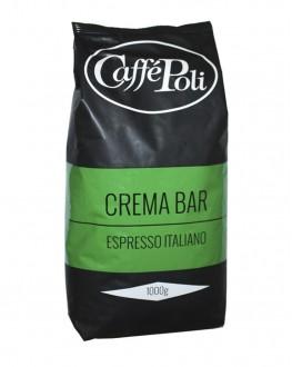 Кофе POLI Crema Bar зерновой 1 кг (8019650000348)