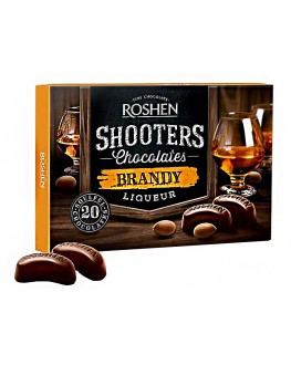 Цукерки ROSHEN Shooters Brandy Бренди 150 г в коробці