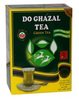Чай AKBAR Do Ghazal Green Tea 100 г к/п (4796015724395)