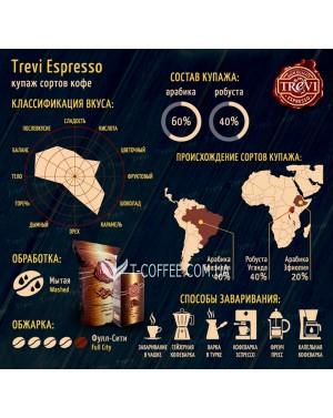 Кофе Trevi Espresso молотый 250 г (4820140050293)