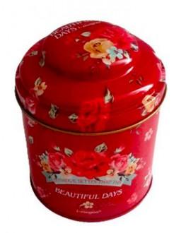 Банка Beautiful Days Червона жерстяна 150 г
