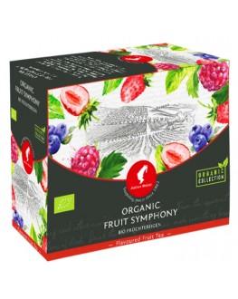 Чай JULIUS MEINL Bio Fruit Symphony Фруктовая Симфония 20 x 4 г (9000403832650)