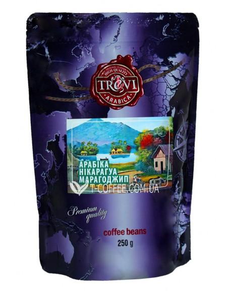 Кофе Trevi Арабика Никарагуа Марагоджип зерновой 250 г (4820140050781)