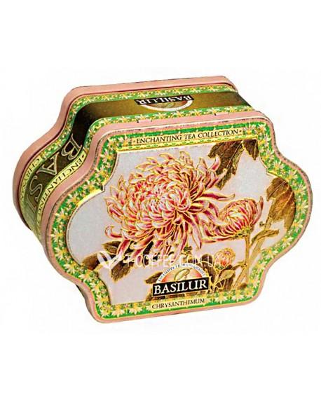 Чай BASILUR Chrysanthemum Хризантемы - Чарующая Коллекция 100 г ж/б (4792252925533)