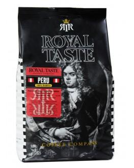 Кофе ROYAL TASTE Peru зерновой 500 г (8719324106078)