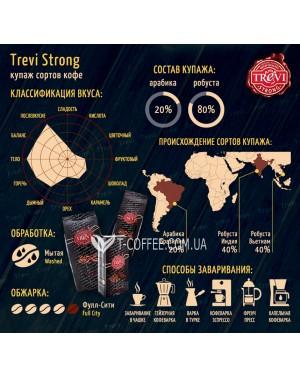 Кофе Trevi Strong зерновой 250 г (4820140050453)