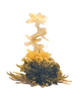 Квітка Багатства білий в'язаний чай Османтус