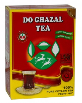 Чай AKBAR Do Ghazal Pure Ceylon Tea 100 г к/п (4796015724371)