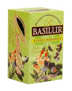 Чай BASILUR Assorted Green Tea Ассорти - Букет 20 х 2 г (4792252001121)