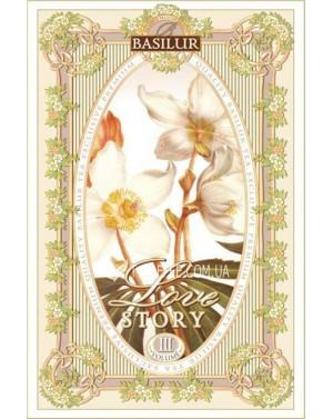 Чай BASILUR Love Story Том 3 - Любовная История 100 г ж/б (4792252917279)