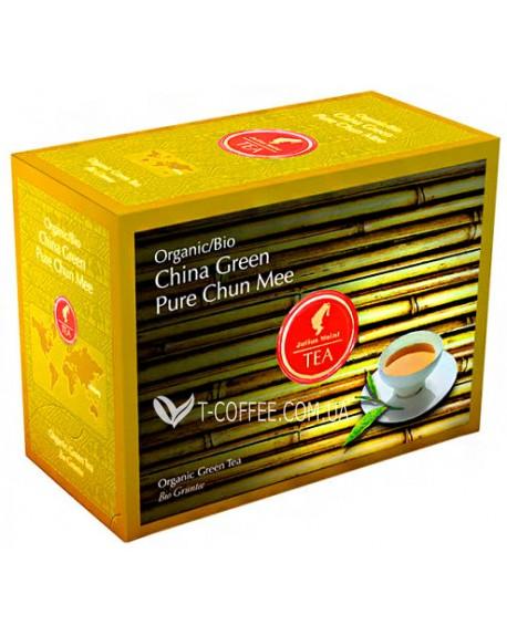 Чай Julius Meinl Bio China Green Pure Chun Mee Зеленый Китайский Шун Ми 20 x 3,25 г (9000403832551)