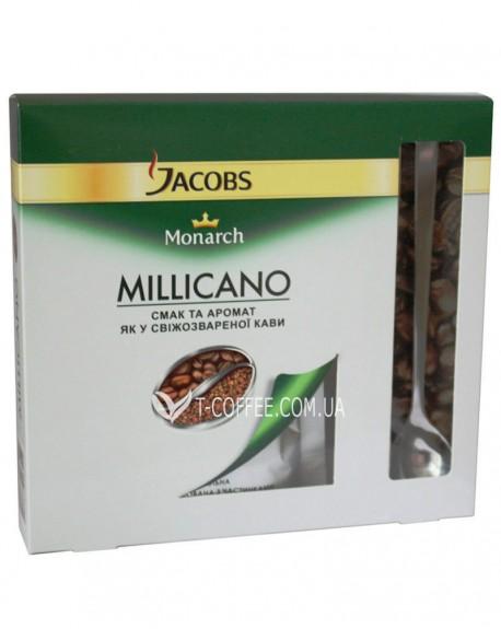 Кофе Jacobs Monarch Millicano 60 г цельнозерновой растворимый к/п