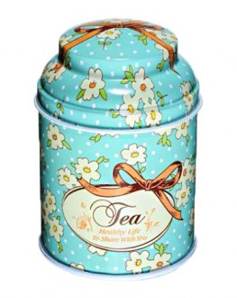 Банка Tea Блакитна жерстяна 80 г