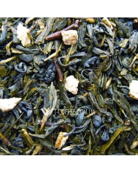 Японская Липа зеленый ароматизированный чай Чайна Країна