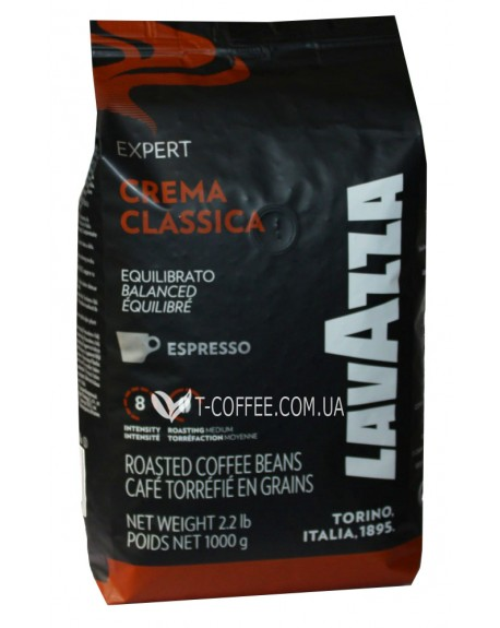 Кофе Lavazza Expert Crema Classica Espresso зерновой 1 кг (800070029651)