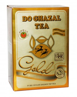 Чай AKBAR Do Ghazal Pure Ceylon Golden Tip Tea 500 г к/п (4796015727228)