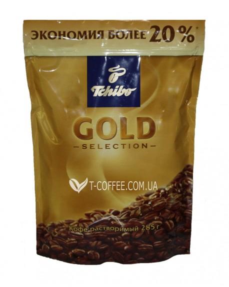 Кофе Tchibo Gold Selection растворимый 285 г эконом. пак.