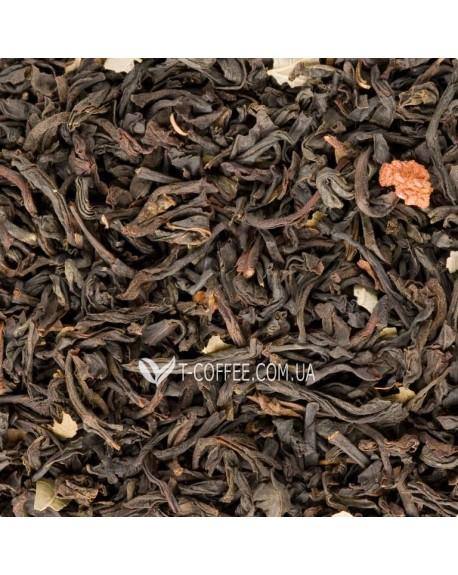 Земляничный с Ароматом Сливок черный ароматизированный чай Чайна Країна
