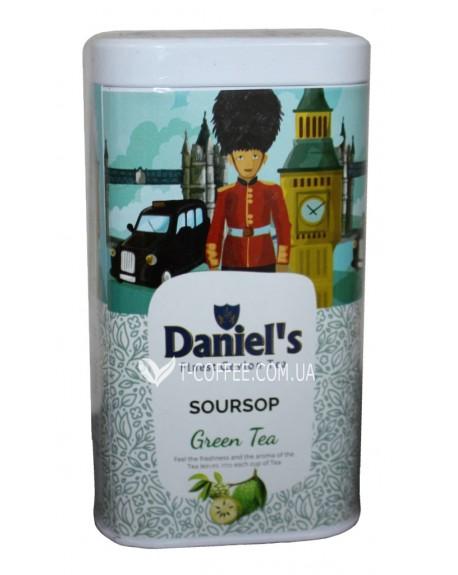 Чай Daniel's Soursop Green Tea 100 г ж/б (4796017690582)