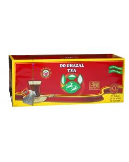 Чай AKBAR Do Ghazal Pure Ceylon Tea 25 x 2 г (5014176003753)