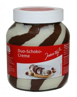 Шоколадно-горіхова паста Duo Schoko Creme 750 г скл. б. (4306188047964)