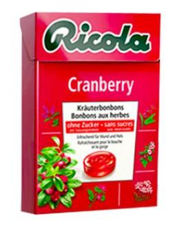 Леденцы RICOLA Cranberry Клюква 50 г (7610700946541)