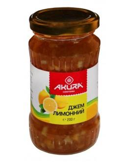 Джем AKURA Лимонный 200 г ст. б. (4820178461498)