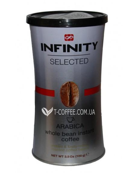 Кофе Infiniti Selected Arabica цельнозерновой растворимый 100 г ж/б (4260283250592)