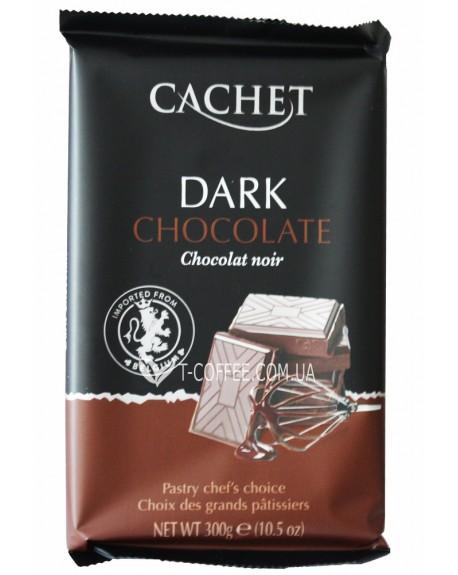 Шоколад Cachet Dark Chocolate Черный Шоколад 54% какао 300 г (5412956216438)