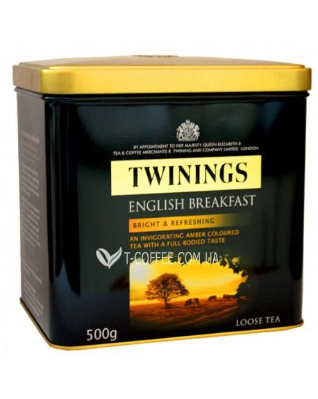 Чай TWININGS English Breakfast Английский Завтрак 500 г ж/б