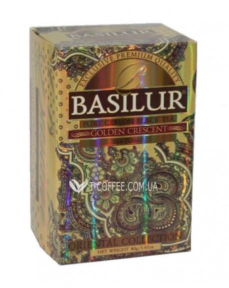 Чай BASILUR Golden Crescent Золотой Полумесяц - Восточная 20 х 2 г