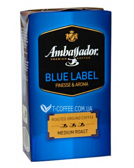 Кофе молотый Амбассадор Блу фото