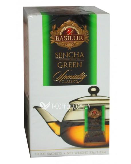 Чай BASILUR Sencha Сенча - Избранная Классика 10 х 3,5 г (4792252932340)