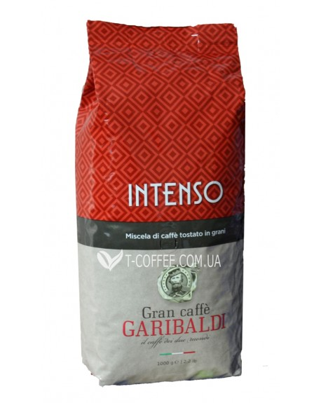 Кофе GARIBALDI Intenso зерновой 1 кг (8003012003337)