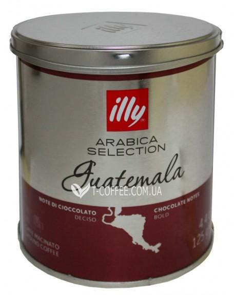 Кофе illy Guatemala Arabica Selection молотый 125 г ж/б (8003753939940)