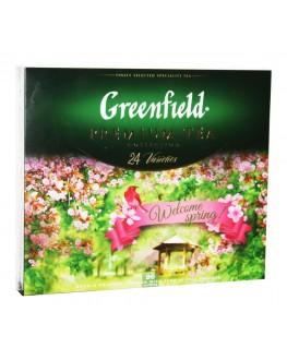 Чай GREENFIELD Premium Tea Collection 24 Varieties Преміальна Колекція 24 Види 96 х 1,7 г (4823096806105)
