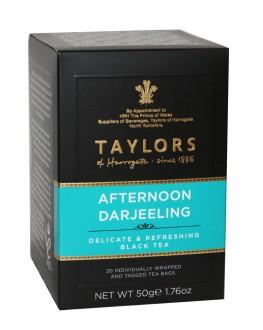 Чай TAYLORS Afternoon Darjeeling Полдник Дарджилинг 20 х 2,5 г (615357118898)