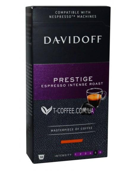 Кофе Davidoff Cafe Nespresso Prestige в капсулах 10 х 5,5 г (4046234847369)