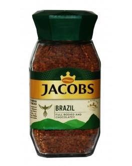 Кофе JACOBS Brazil растворимый 95 г ст. б. (8714599108352)