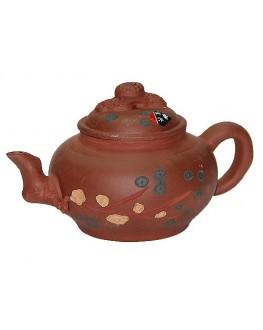 Чайник глиняний Зелена Гілка 350 мл