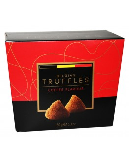 Цукерки BELGIAN TRUFFLES Coffee Flavour Кава 150 г в коробці (5420066370025)