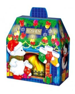 Новорічний подарунок ROSHEN №11 Новорічний Камін 2022 601 г (4823077635212)